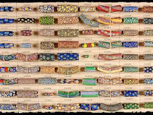 Старинные венецианские бусины, Sample Cards, часть 3. Ярмарка Мастеров - ручная работа, handmade.