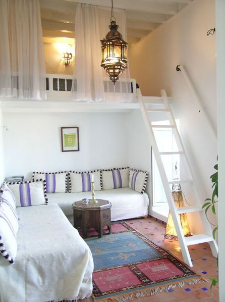 Loft ideas for guest cottage