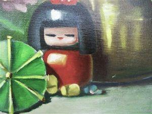 Видео по картине Когда цветет гортензия | Ярмарка Мастеров - ручная работа, handmade
