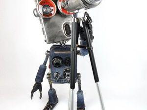 Машинариус — мастер-кукольник, создающий роботов. Ярмарка Мастеров - ручная работа, handmade.