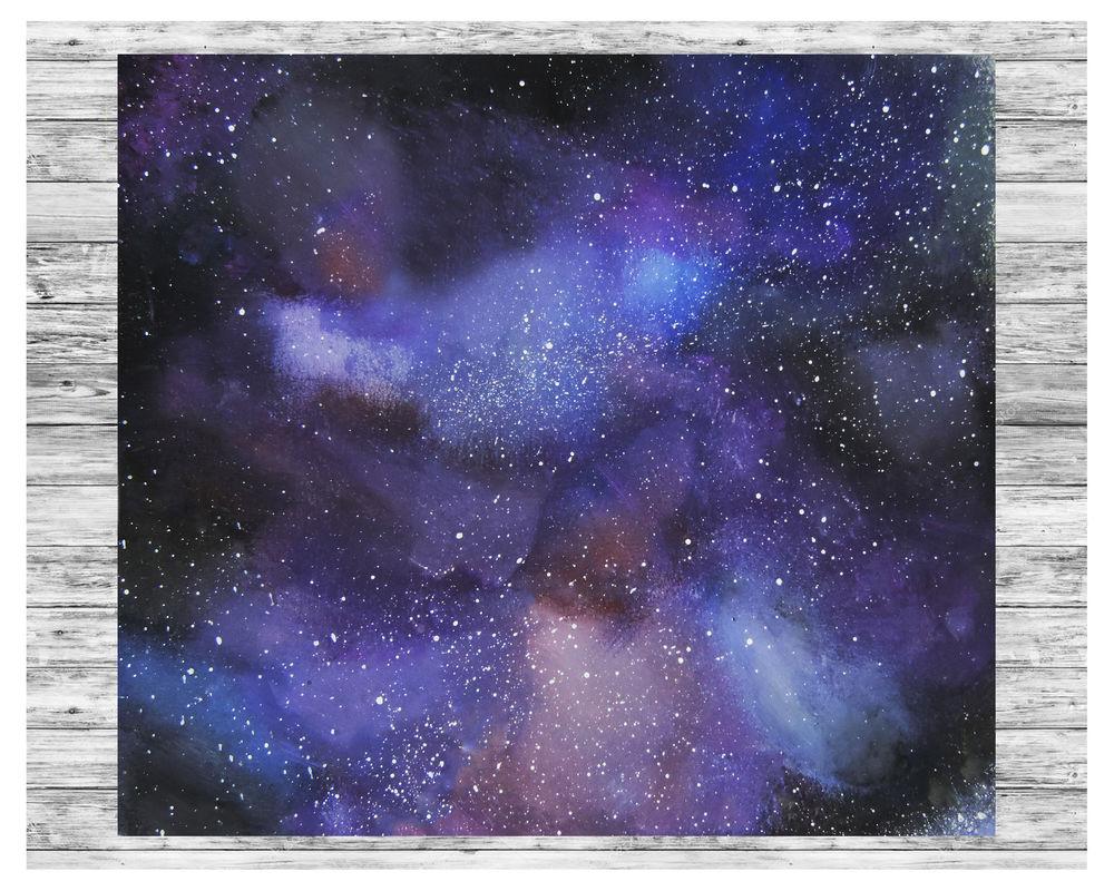 картинки космос рисунки