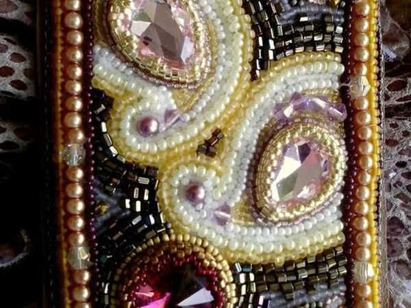 Закрыт. Аукцион на кожаную сумку с вышивкой. | Ярмарка Мастеров - ручная работа, handmade