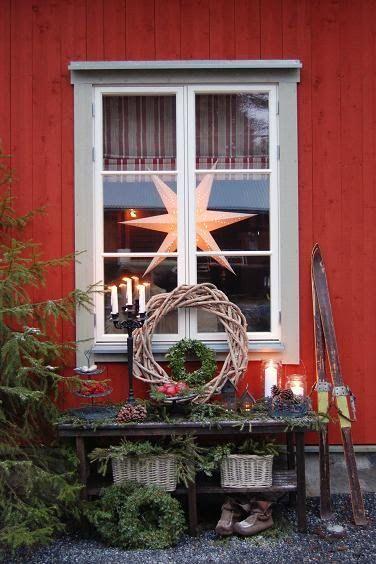 рождественсике окна