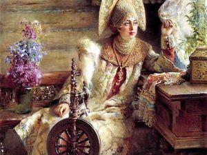 Очарование старинных песен и живописи   Ярмарка Мастеров - ручная работа, handmade