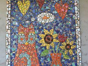 Создаем оригинальную мозаику. Часть 1. Ярмарка Мастеров - ручная работа, handmade.