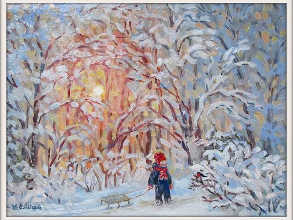 Пейзажи всех времен года! | Ярмарка Мастеров - ручная работа, handmade