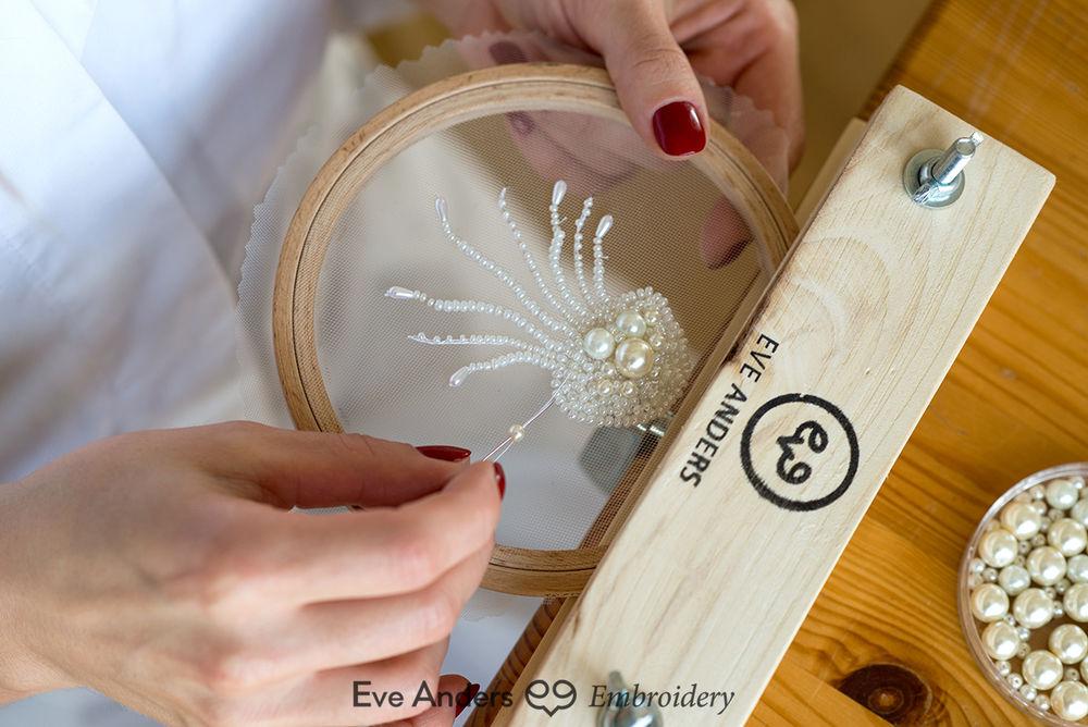 вышивка крючком, люневильский крючок, вышивка для начинающих, вышивка, ева андерс, eve anders, курс по вышивке