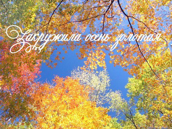 Конкурс коллекций. Закружила осень золотая! | Ярмарка Мастеров - ручная работа, handmade