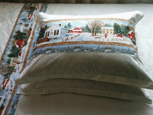 новогоднее постельное белье | Ярмарка Мастеров - ручная работа, handmade