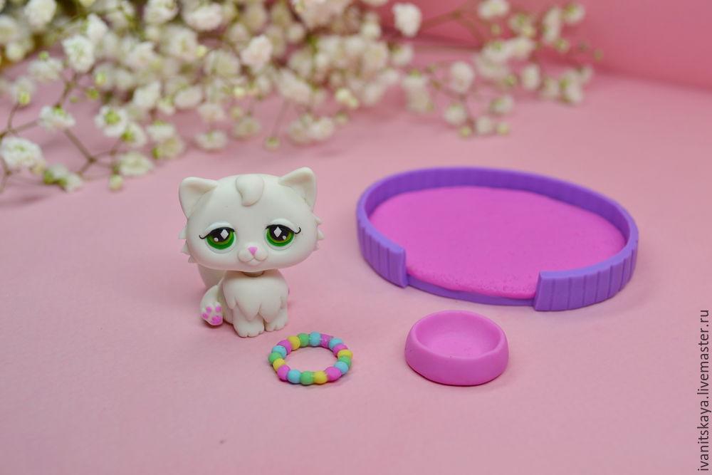 видео мастер-класс, лепка, кот, персидская кошка