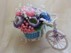 Скидка 20% на композиции цветов из бисера. | Ярмарка Мастеров - ручная работа, handmade