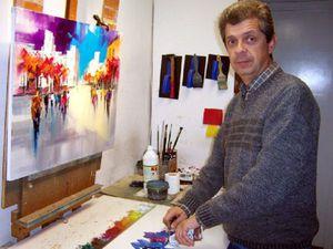 Особое очарование картин испанского художника Josep Teixido: смелая игра цвета и ничего лишнего. Ярмарка Мастеров - ручная работа, handmade.
