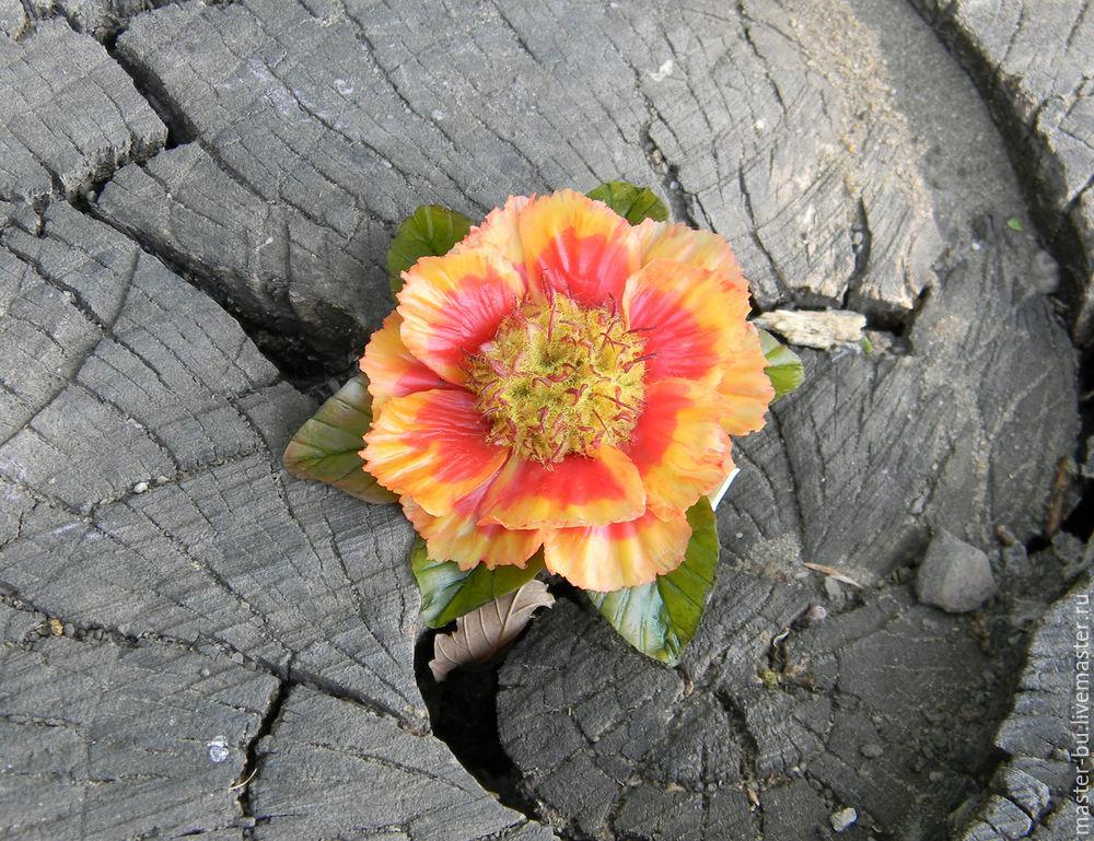 украшения с цветами, керамическая флористика, лепка цветов, уроки лепки