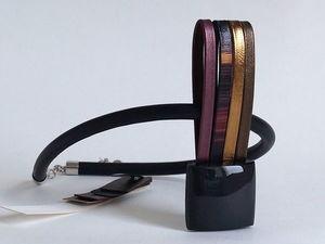 Новое колье. Сегодня вечером. Коллекция REFLEXIO.. Ярмарка Мастеров - ручная работа, handmade.