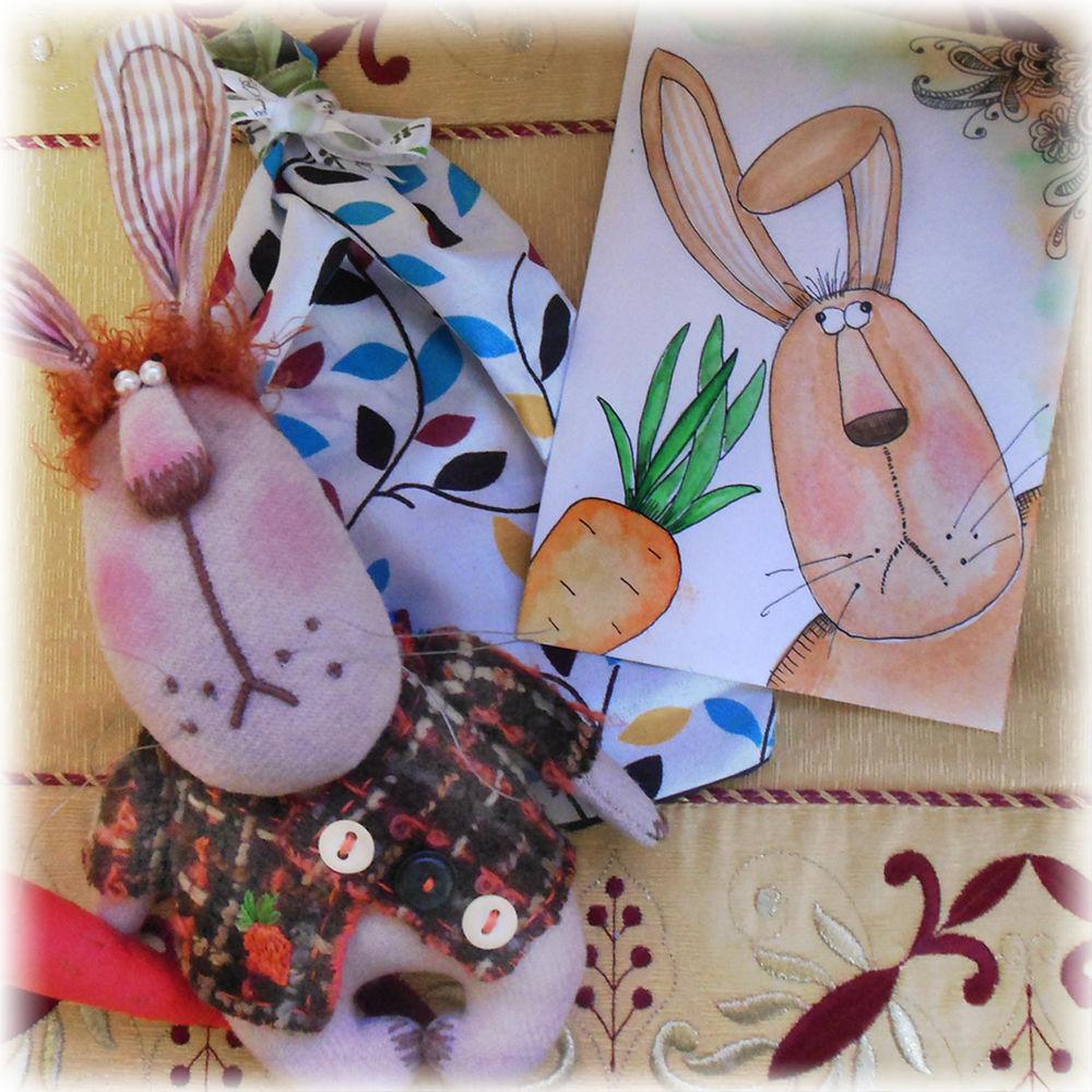 заяц, заяц тильда, заяц ручной работы, игрушка в подарок, зайчик, зайчики