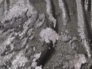 Видеообзор двухсторонние пайетки на трикотажной основе гарфитово-серого оттенка Италия. Ярмарка Мастеров - ручная работа, handmade.