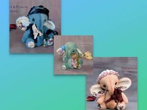 23 и 24 марта скидка на всех слоников 20%. Ярмарка Мастеров - ручная работа, handmade.