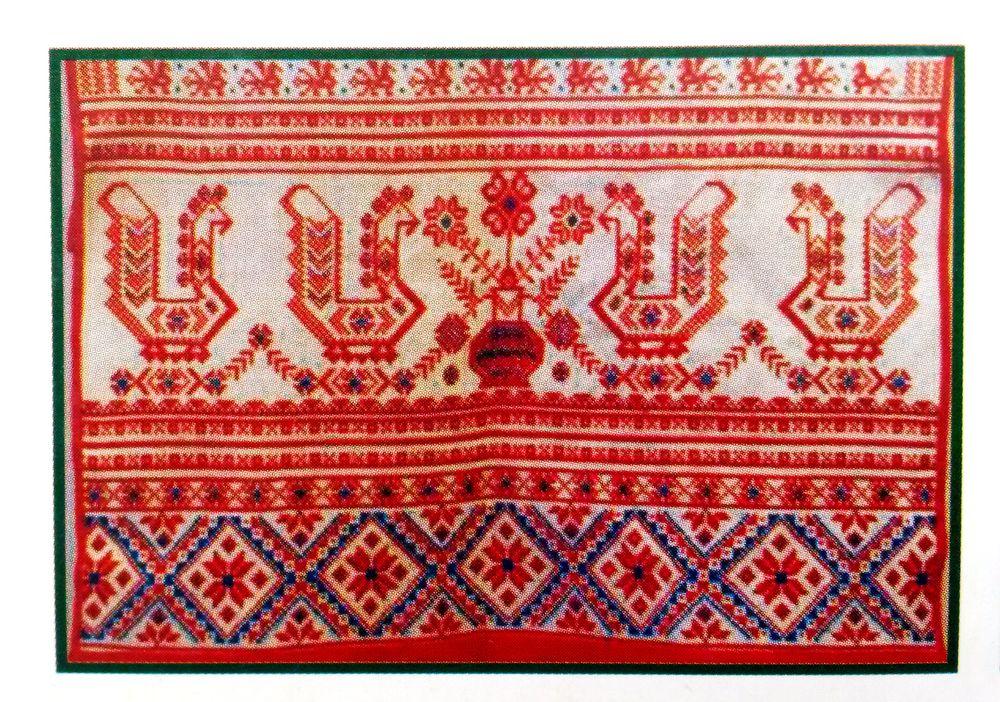 славянские символы, оберег сова, вышитые обереги