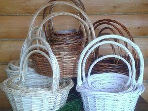Акция продлена до 22.05 — скидка 15% на плетеные корзины. Ярмарка Мастеров - ручная работа, handmade.