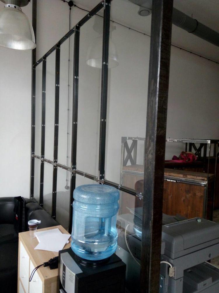 лофт перегородки, перегородки из стали, перегородка в стиле лофт, двери лофт