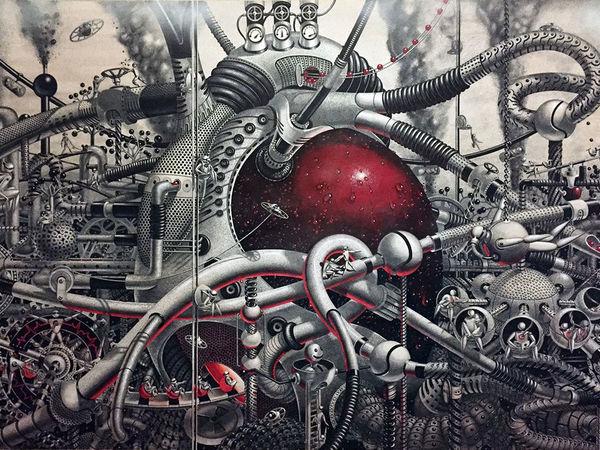 Стимпанк вселенная художника Samuel Gomez | Ярмарка Мастеров - ручная работа, handmade