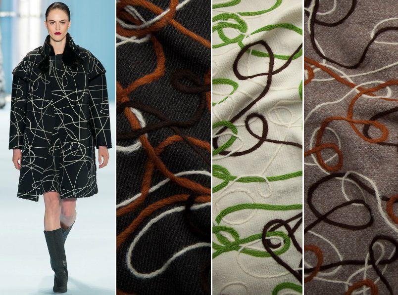 пальтовые ткани, ткани для верхней одежды, шить пальто, ткани из италии, ткани для одежды, оригинальный принт, принт из пряжи