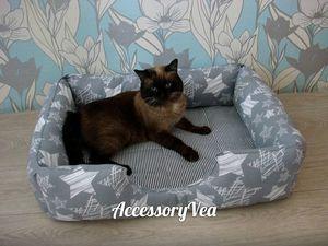 Лежанка для кота или собаки.В наличии. Ярмарка Мастеров - ручная работа, handmade.