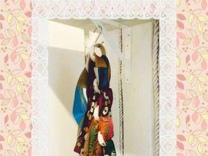 Хранение шарфов и косынок – мастерим приспособу не хуже, чем в ИКЕА &#x3B;). Ярмарка Мастеров - ручная работа, handmade.