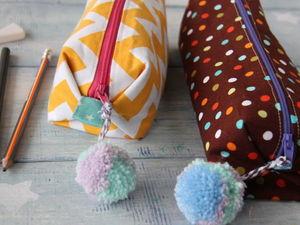 Видео мастер-класс: делаем пенал или косметичку из ткани. Ярмарка Мастеров - ручная работа, handmade.