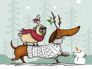 С Новым годом!!!!!!. Ярмарка Мастеров - ручная работа, handmade.