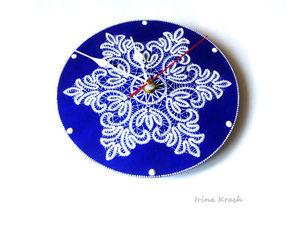 Мастер-класс по точечной росписи основы часов: имитация кружева | Ярмарка Мастеров - ручная работа, handmade