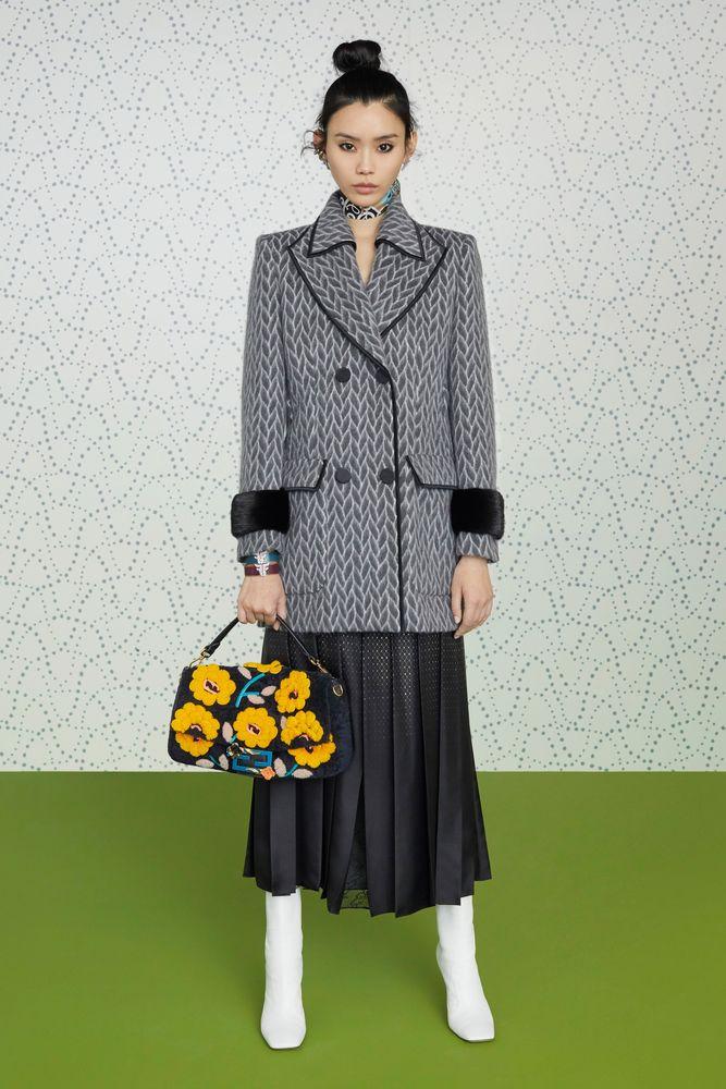 Осенняя коллекция Fendi 2019