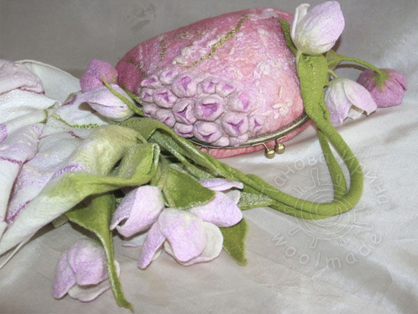 мастер класс по валянию сумочек | Ярмарка Мастеров - ручная работа, handmade
