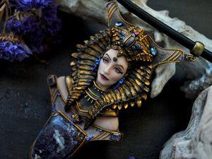 """Анонс Новой скульптуры! Колье """"Cleopatra"""". Ярмарка Мастеров - ручная работа, handmade."""