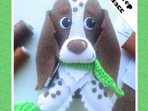 Шьем из фетра собаку породы спаниель. Ярмарка Мастеров - ручная работа, handmade.