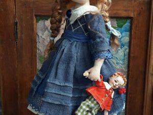 Летняя скидка 15% на кукол! | Ярмарка Мастеров - ручная работа, handmade