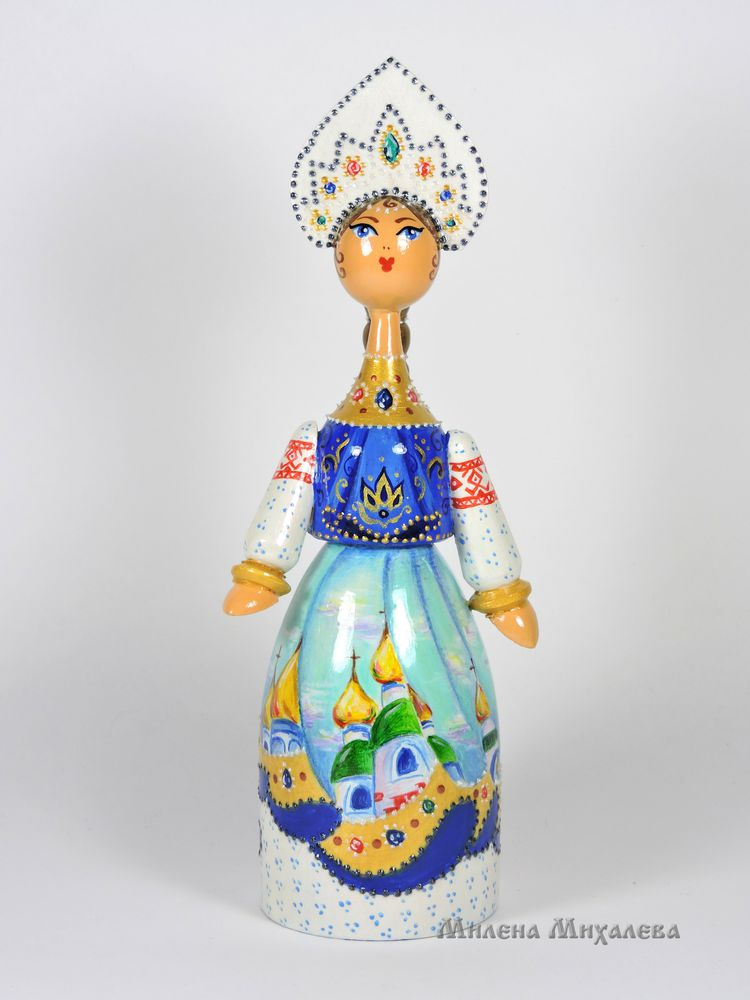 русский сувенир купить, расписные куклы, русские сказки, деревянная кукла, подарок девочке, оберег, русские узоры, русский стиль, русская матрешка, деревянные игрушки