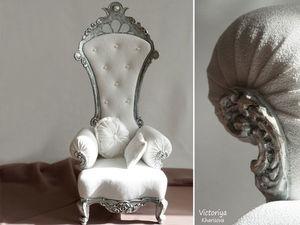 Королевский трон. Ярмарка Мастеров - ручная работа, handmade.