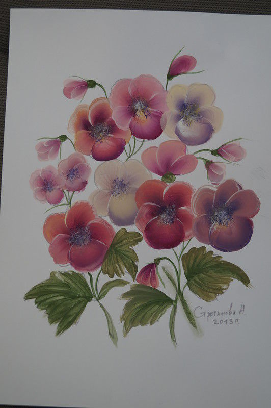 обучение росписи