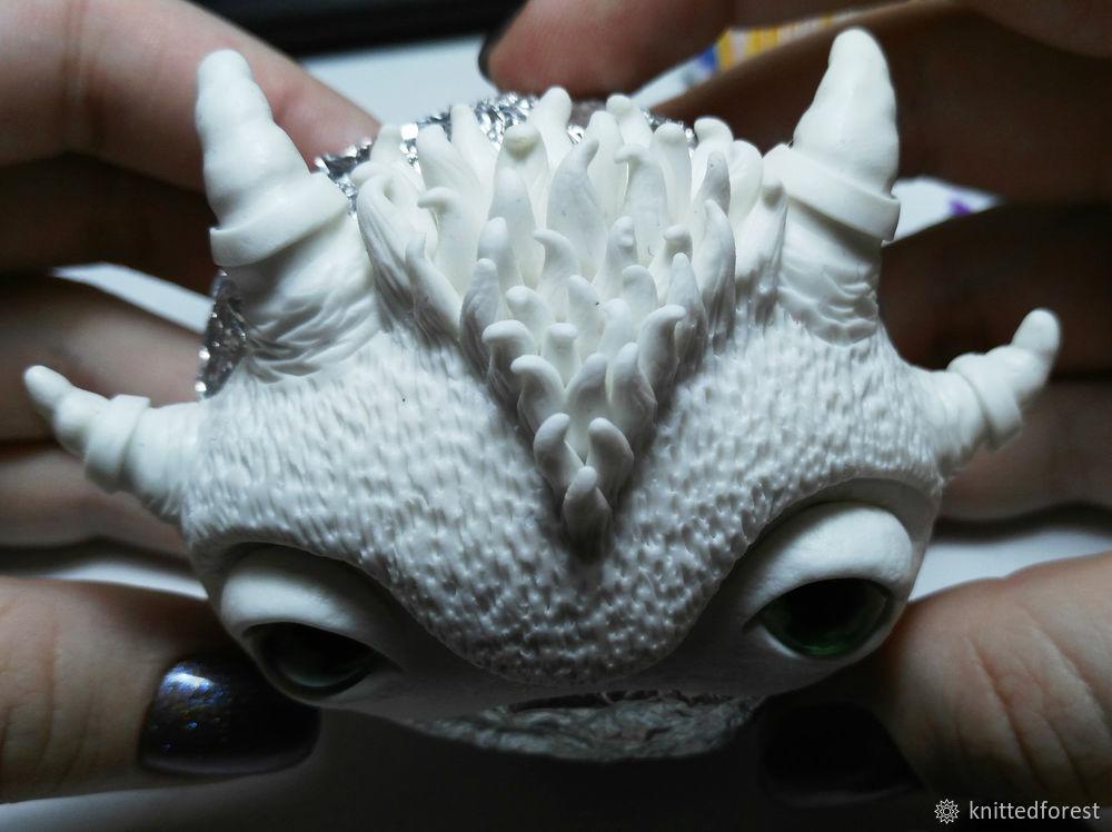 Процесс создания авторской игрушки из полимерной глины. Часть 1. Лепка мордочки, фото № 34