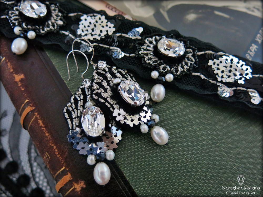 ручная вышивка украшений