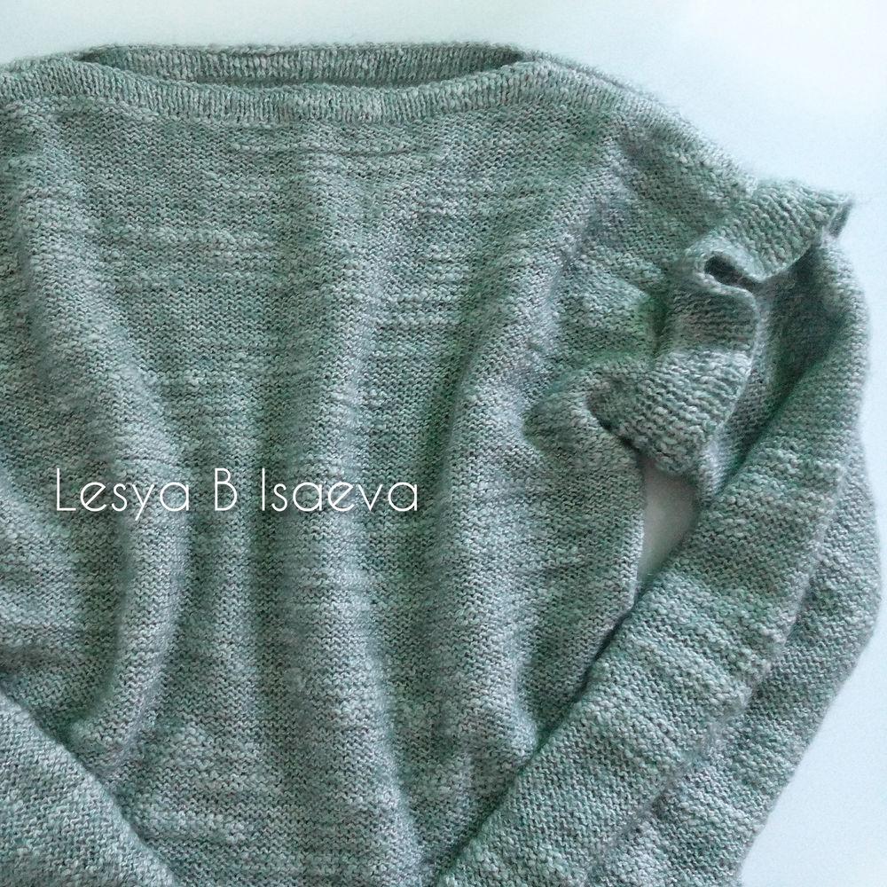 свитер женский, джемпер вязаный