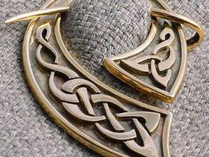 Из глубины времен: забытое украшение «фибула». Ярмарка Мастеров - ручная работа, handmade.