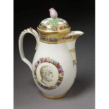 Chocolate pot and cover