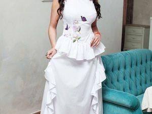 Роскошное платье!-60% универсальное. Ярмарка Мастеров - ручная работа, handmade.