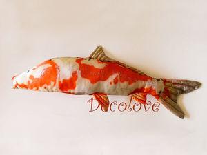 Новая рыбка в моем магазине!Карп Кои!. Ярмарка Мастеров - ручная работа, handmade.