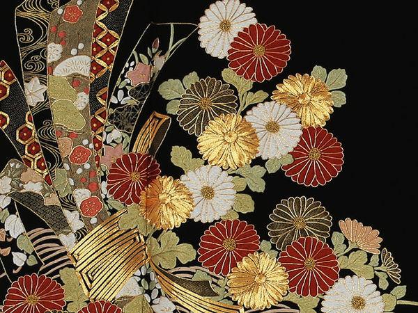 The Extraordinary Beauty of Japanese Embroidery | Livemaster - handmade
