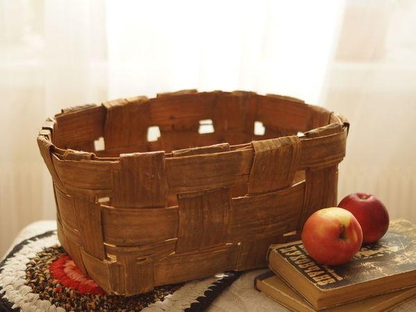 В продаже плетеные старинные изделия из сосновой дранки | Ярмарка Мастеров - ручная работа, handmade