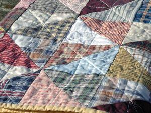 Лоскутное одеяло - как разноцветные лоскутки нашей памяти. Ярмарка Мастеров - ручная работа, handmade.