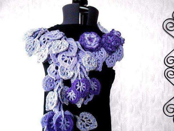 Снижение цен на оригинальные шарфики!! до 30% | Ярмарка Мастеров - ручная работа, handmade
